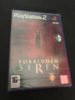 Forbidden Siren PS2 Play Station 2 Pal ESPAÑOL NUEVO PRECINTADO