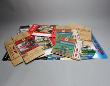 "HUGE ""Wings of Texaco"" Gas Station Advertising LOT Counter Mats, Mobiles, Boxes!"