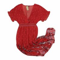 Shein Women's Midi Dress M Colour:  Red