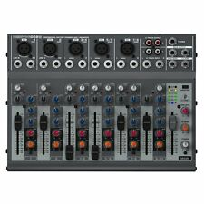 Behringer Xenyx 1002B 2-Bus 10-Channel Battery Powered Mixer +Picks