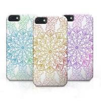 Slim 3D Ornamental Floral Flower Pattern Design Case Cover for iPhone/Samsung