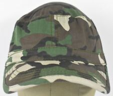Green Camouflage Magic Headwear Soldier Style Military Cadet Hat Cap Adjustable