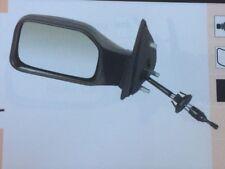 Peugeot 106 91-03 Negro Puerta Espejo Rh Cable Control ADM116 Nuevo