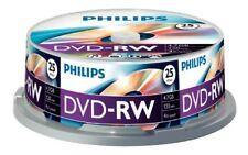 Philips Dvd-rw 4.7 GB 4x vitesse Boîte de Gâteau Éléments