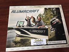 2013 Alumacraft Bass Boat Catalog Brochure Trophy Dominator Competitor Navigator