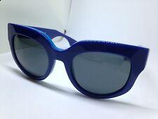PRADA SPR07Q occhiali da sole donna blu woman sunglasses sonnenbrille lunettes