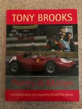 Tony Brooks: Poetry in Motion Signed F1 Aston Martin BRM Vanwall Ferrari driver
