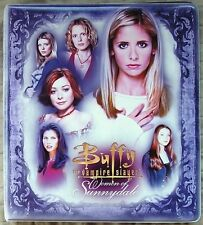 Buffy Women of Sunnydale Trading Card Binder & 90 Card Base Set + Binder Pages