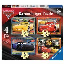 Kinder Puzzle Box | 4 in 1 | Disney Cars 3 | Ravensburger | Legespiel
