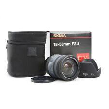 Nikon Sigma ex 2,8/18-50 dc macro + muy bien (220161)