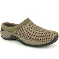MERRELL Encore Breeze 2 Deep Tan Slip On Shoes Womens Ladies Size 7 Mesh Clogs