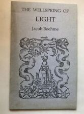 the wellspring of light jacob boehme holmes '97 evelyn sire mystic religion book