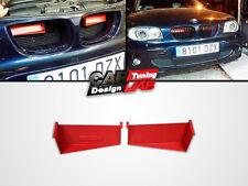 Aluminum AIR Scoop Embedded RED 6 Cylinders Fits BMW E82 E87 E88 128i 130i 135i