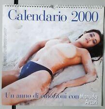 GENTE VIAGGI Calendario 2000 MANUELA ARCURI fotografie di G. Chieregato - NUOVO