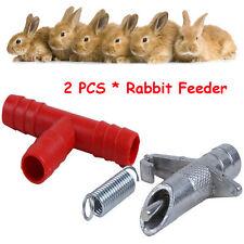 2 Pcs Machine à Boisson Automatique pour Pet Lapin Pratique
