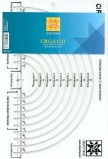 EZ Quilting Easy Circle Cut Patchwork Ruler