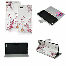 Leather Card Holder Soft Full Cover Case For Huawei Ascend P8 Lite P8 Mini
