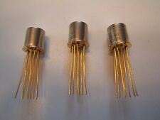 TELEDYNE 732D-5 HIGH FREQUENCY RF RELAY.GOLD LEADS 3 PCS NOS UNUSED.