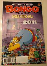 Free Comic Book Day FCBD 2011 Simpsons UNSTAMPED NM BONGO