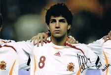 Signed Cesc Fabregas Spain Photo Chelsea Arsenal Barcelona