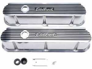 For 1988-1991 Ford LTD Crown Victoria Engine Valve Cover Set Edelbrock 43792SC