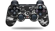 Skin for PS3 Controller WraptorCamo Digital Camo Gray CONTROLLER NOT INCLUDED