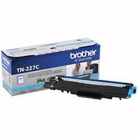 Brother International TN227C Cyan Toner Cartridge Tonr High Yield Toner