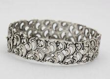 ♦♦♦ Armreif in aus 835er Silber Silberarmreif Silberarmspange Armband Tracht ♦♦