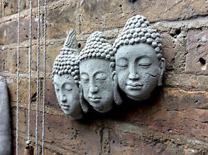 Divine Beautiful Buddha Faces Wall Plaque..Exclusive & Unique From  Sius