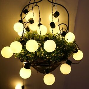 5 M 20 LED Big Ball String Lights Outdoor Garden Lamp Christmas Festive Light