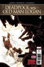 DEADPOOL VS OLD MAN LOGAN #4 OF 5 MARVEL COMICS NM
