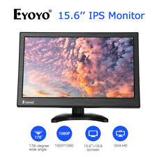 15.6 Inch Big Screen IPS HDMI Monitor 1920x1080 with AV/VGA/BNC/USB for Computer