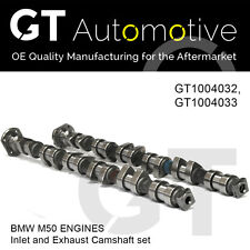 BMW INLET EXHAUST CAMSHAFT SET FOR M50 ENGINES 11311718885 & 11311718886