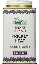 Snake Brand Prickly Heat Cooling Powder Relaxing  French Lavender 280 gram