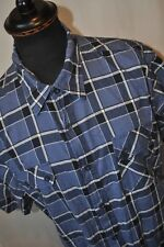 Lee Cooper blue check western shirt size XXL casual mod