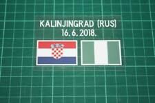 CROATIA World Cup 2018 Home Shirt Match Details CROATIA Vs NIGERIA