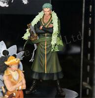 One Piece Roronoa Zoro 15th anniversary PVC Figure Model 7'' In Box Collection