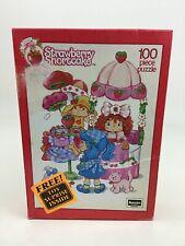 Strawberry Shortcake 100pc Puzzle Rose Art 08031 with Toy Inside Sealed 1992