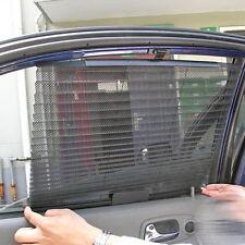 Car Retractable Side Rear Window Mesh Sun-shading Curtain Roller Blind Sun shade