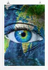 60x90cm Künstlerische Fotografie – Das Gesicht der Erde
