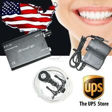 LED Headlight Lamp with CLIP for Dental Lab Surgical Medical loupe USA warehouse
