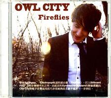 Owl City 'Fireflies' 1-Track HONG KONG 2009 Promo CD w/ Insert - Crazy Rare!