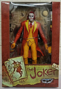 "NECA 7"" Heath Ledger DC Comics Batman Dark Knight Orange Joker Action Figure Toy"