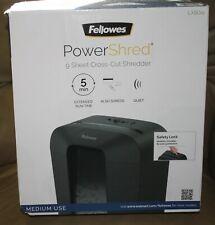 New Fellowes Paper Shredder Lx50rs Powershred 9 Sheet Crosscut