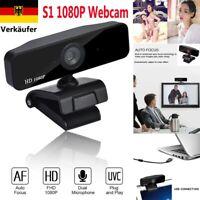 USB 3.0 1080P HD Netzwerkkamera Autofokus Netzwerk Webcam für PC Laptop Desktop