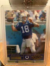 New listing Peyton Manning 2003 Playoff Honors Rare Card #59/100
