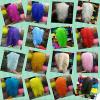 Wholesale! Hot 10-100pcs High Quality Natural Ostrich Feathers 6-24inch/15-60cm