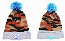 Charlotte Hornets New Logo Mitchell & Ness Unisex Winter Beanie Hat Camo