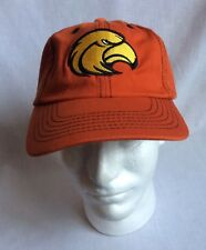 Mens Eagle Hawk Logo Strapback Cap Hat New w/o Tags Orange