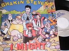 """7"""" - Shakin Stevens I Might & Love won´t Stop - 1990 MINT # 0933"""
